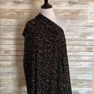 LuLaRoe constellation maxi skirt